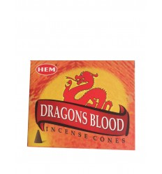 Encens HEM dragon blood en cône