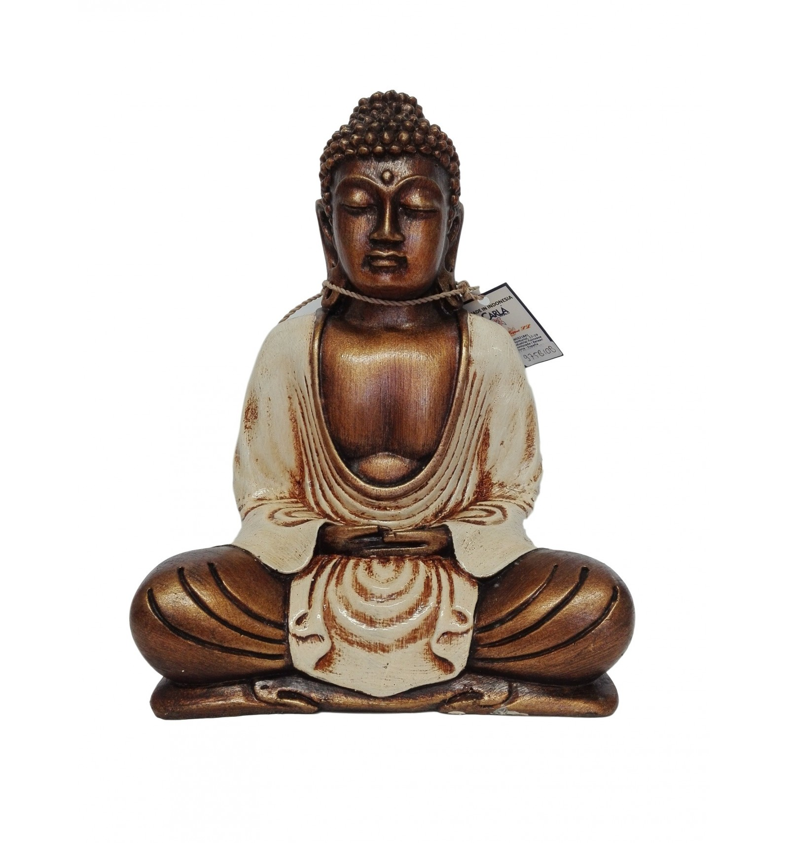 statue bouddha tha landais 22 cm cru par cher 44 10 d coration accueil. Black Bedroom Furniture Sets. Home Design Ideas